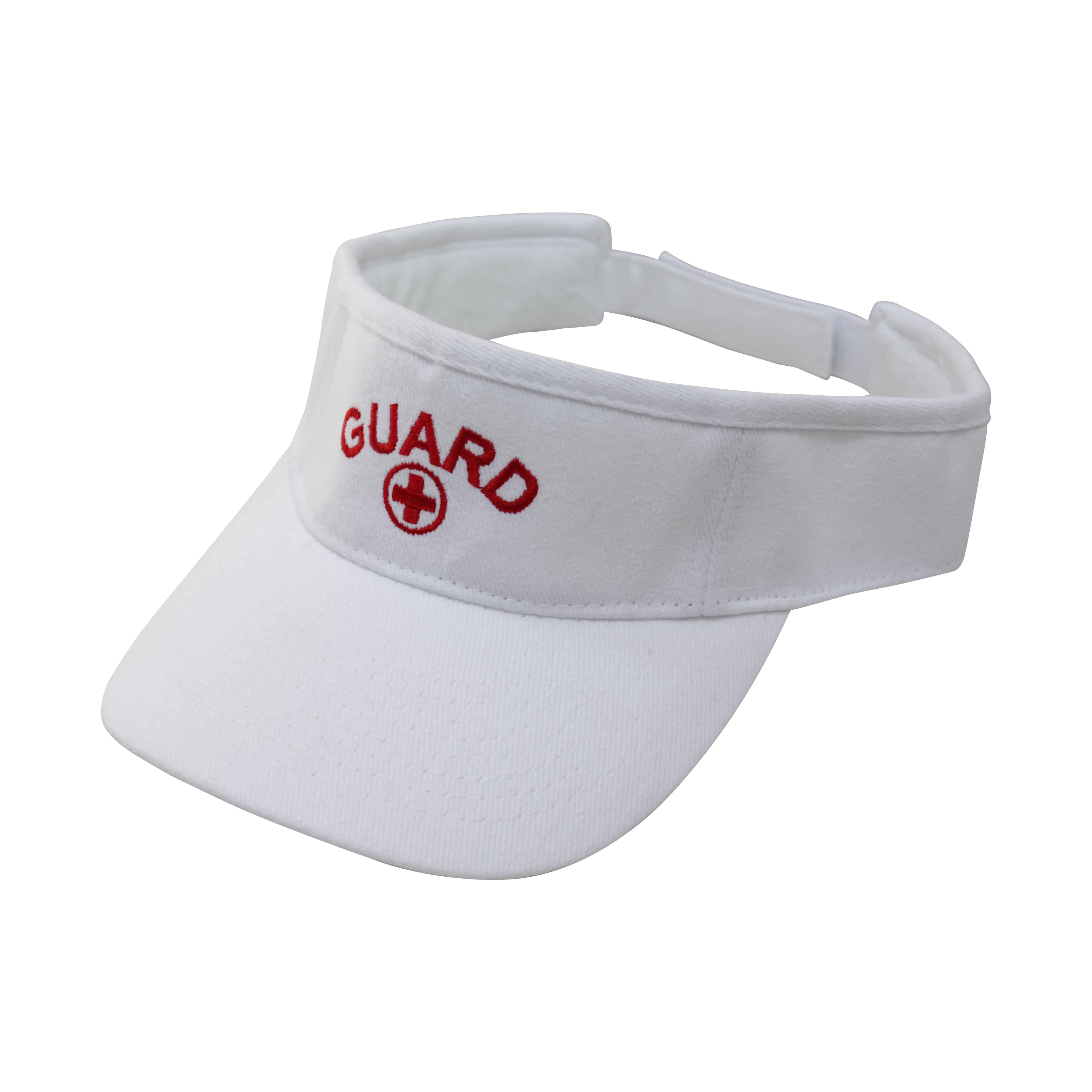 60f13c7fe6fe Kemp USA Adjustable Visor with GUARD Logo – Swimtime